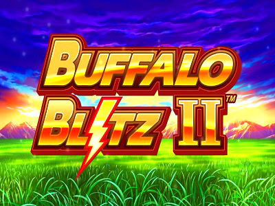 2020620 Buffalo Blitz 2 Online Slot Machine Logo