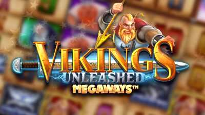 Vikings Unleashed Megaways Slot Logo
