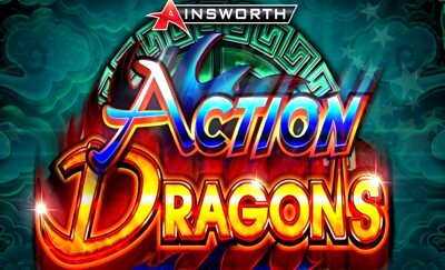 Action Dragons Title Logo 2 Ainsworth