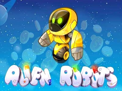 Top Slot Game of the Month: Alien Robots Slot