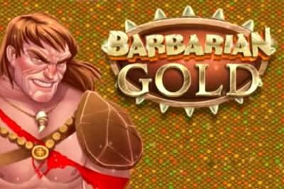 Barbarian Gold Slot Logo