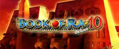 Top Slot Game of the Month: Book Ra Deluxe 10 Banner