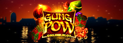 Gung Pow Slot Logo Big