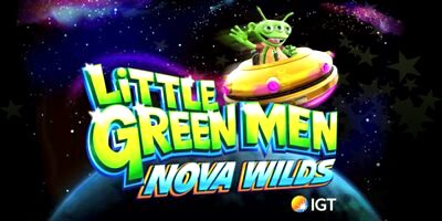 Top Slot Game of the Month: Little Green Men Nova Wilds Slot