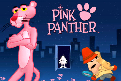 Top Slot Game of the Month: Pink Panther Slot Logo