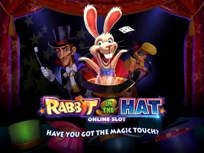 Top Slot Game of the Month: Rabbit in the Hat Slot