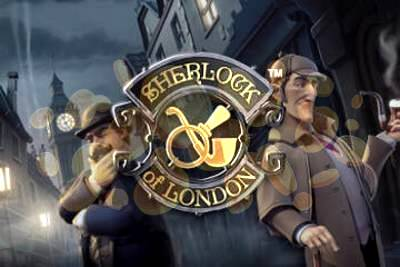 Sherlock of London Slot Logo