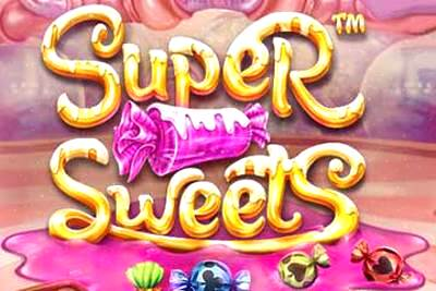Super Sweets Slot Logo