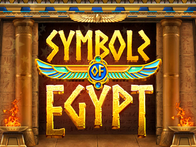 Top Slot Game of the Month: Symbols of Egypt Slot