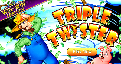 Top Slot Game of the Month: Triple Twister Slot