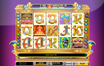 Play Cleopatra Slots and enjoy Wilds, Free Spins Bonuses, and Multiplied Wins!
