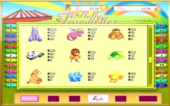 Fluffy Favourites allows online customers, for instance, to use online casino games, such as poker, shuffle and roulette games.