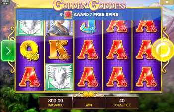 The Golden Goddess casino game contains some other special slots which can be played if your reputation is high enough.