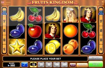 Fruit Slots are a free online Casino activity simulator of the most recent VideoSlots casino, Fruit Slots.