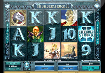 Thunderstruck II is one of the best microgaming slots that I have ever played.