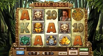 Aztec Idols Slot Machine