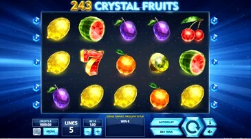 243 Crystal Fruits Slot