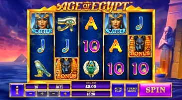 Age of Egypt Slot Machine