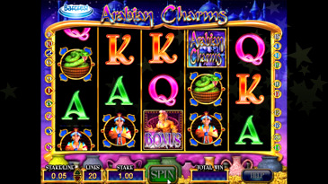 Arabian Charms Slot Machine