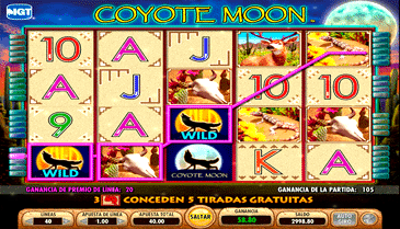 Coyote Moon Slots Free Play