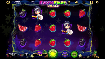 Exotic Fruit Deluxe Slot Machine