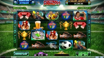 Football Frenzy Slot Machine