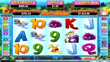 Free Ocean Oddities Slot Machine