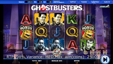Ghostbusters Plus Slot Machine
