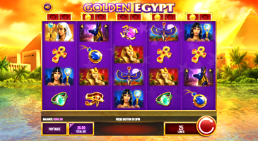 Golden Egypt Slot Machine Online