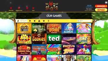Mr. Wolf Slots Casino Review