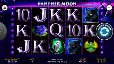 Slot Game Panther Moon