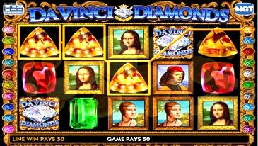 Slot of Davinci Diamonds