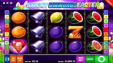 Sticky Diamonds Easter Egg Slot