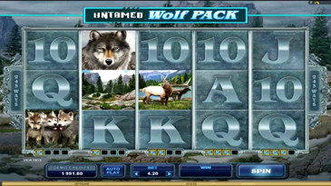 Wolf Pack Slot Machine