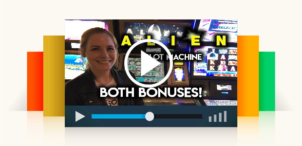 Alien! Slot Machine! Both Bonuses!!!