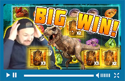 Big Win Raging Rex - New Slot from Play'n Go - Huge Win on