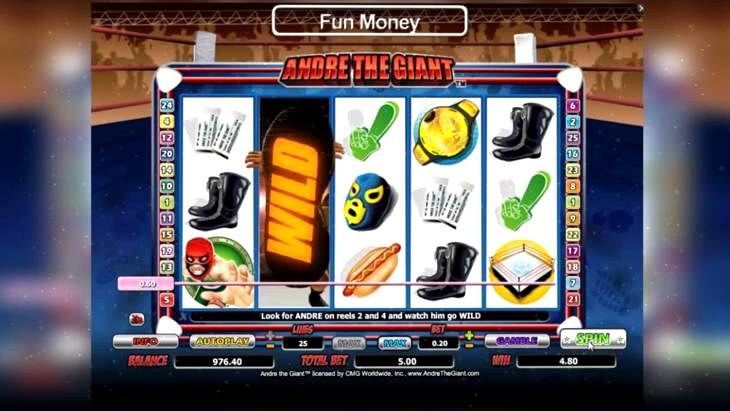 Andre the Giant Slots Review