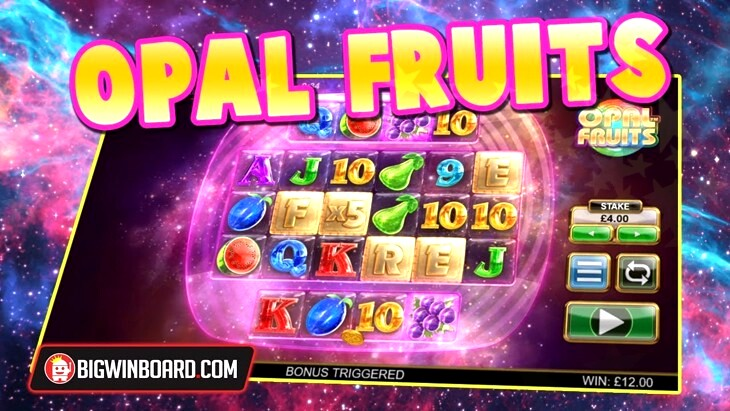 Big Time Gaming Opal Fruits