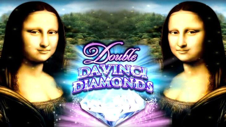Double Davinci Diamonds Slot Machine