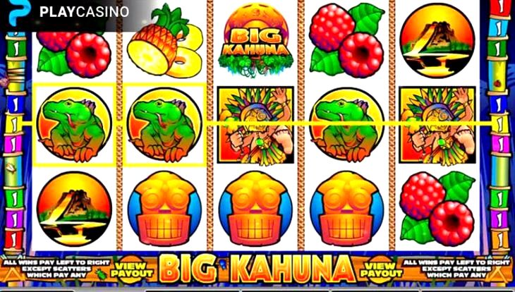 Free Big Kahuna Slot Machine