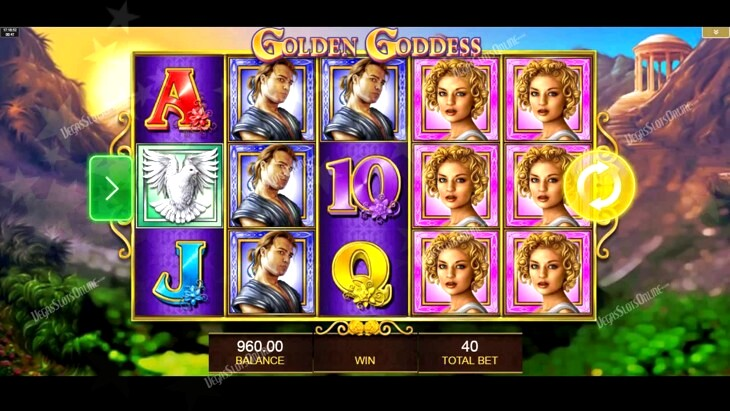 Casino And Resort Letter U. Luxury Letter With Gems Slot