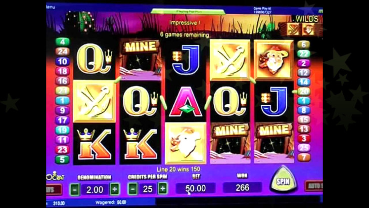 Gold Miner Slot Machine Game