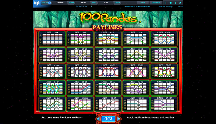 Igt Slots 100 Pandas Download