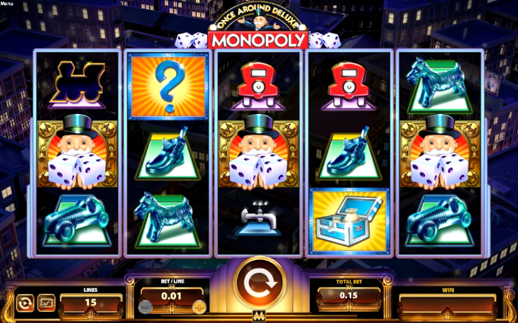 Monopoly Once Around Deluxe Slot
