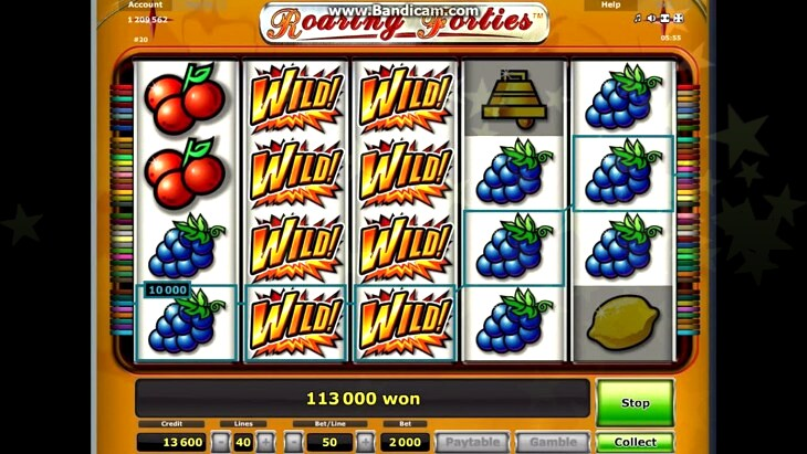 Play Roaring Wilds Slot